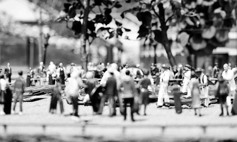 ludzkie miniaturki