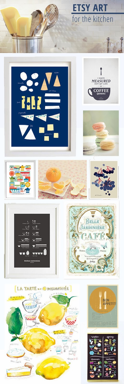 Etsy Art For The Kitchen   Rambling Renovators