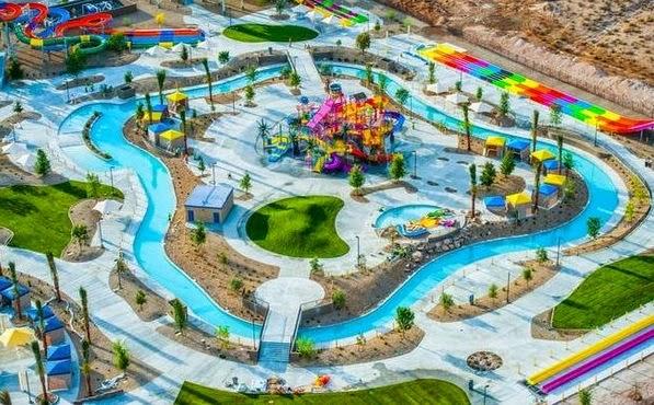 Wetn Wild Las Vegas com crianças e filhos