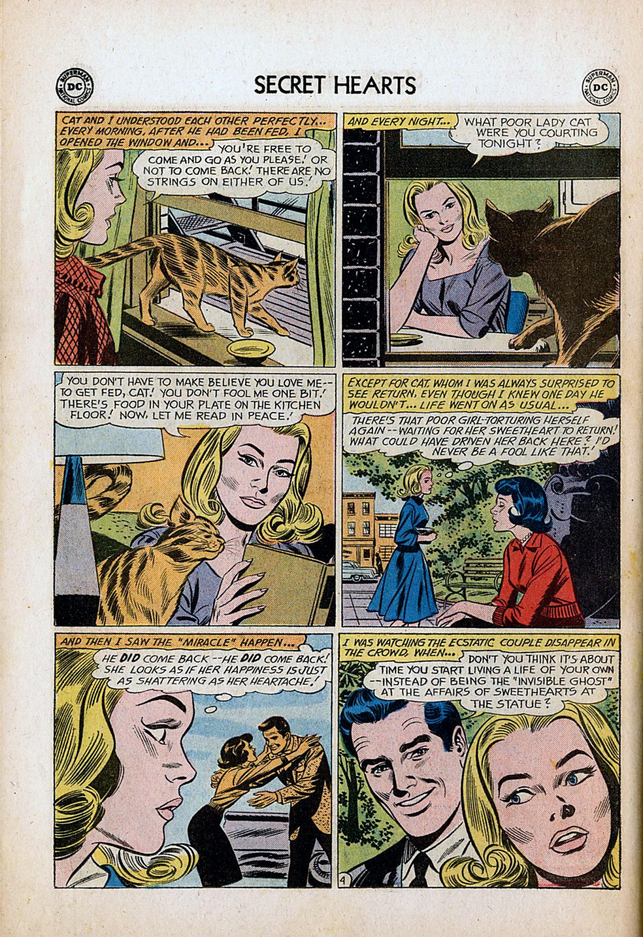 Read online Secret Hearts comic -  Issue #80 - 30