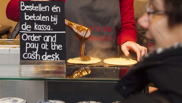 Why Visit Rotterdam in Winter? Homemade stroopwafels at the Rotterdam Markthal