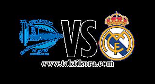 ريال مدريد وديبورتيفو الافيس بث مباشر