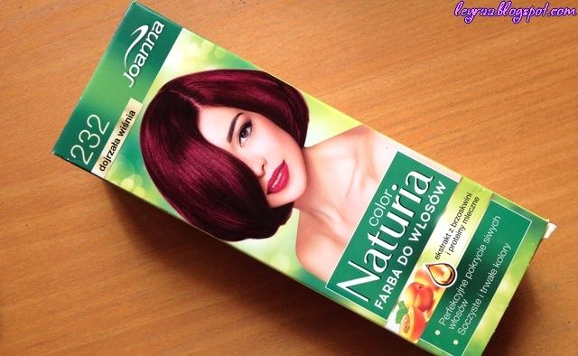 Joanna Color Naturia Farba do włosów 232 Dojrzała wiśnia