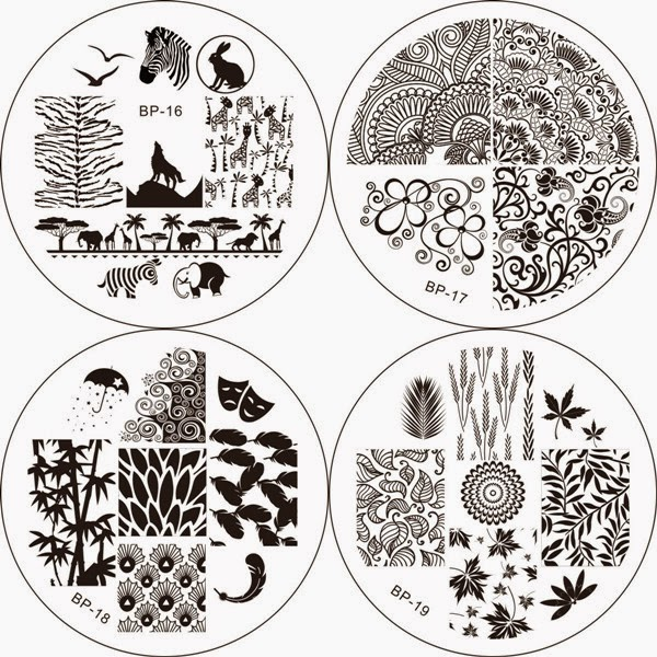 Lacquer Lockdown - Born Pretty Store nail art stamping plates, Born Pretty Store brand nail art stamping plates, nail art stamping blog, born pretty store, new nail art stamping plates 2014, new nail art image plates 2014, new nail stamping plates 2014, stamping, nails, diy nail art, cute nail art ideas, pueen, moyou london, nail art, cool nail art ideas
