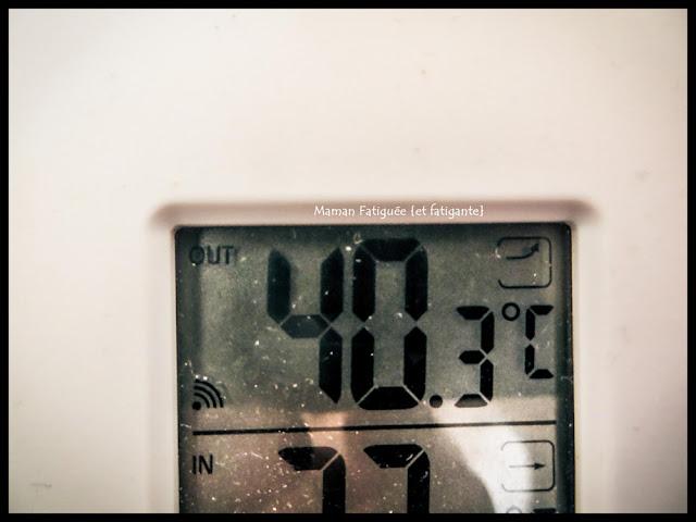 température chaude
