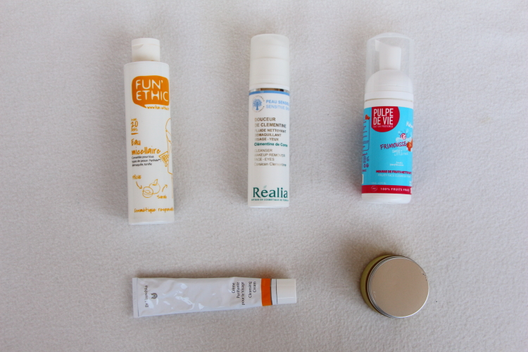 Nettoyants visage bio peau mixte sensible