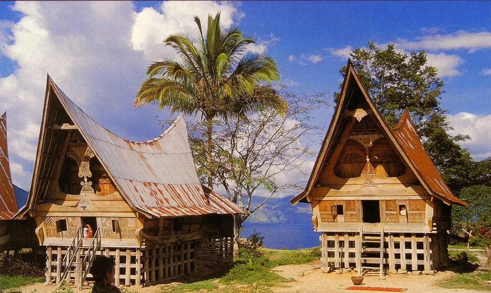 Kumpulan Gambar Rumah Adat Di Indonesia Info Gambar