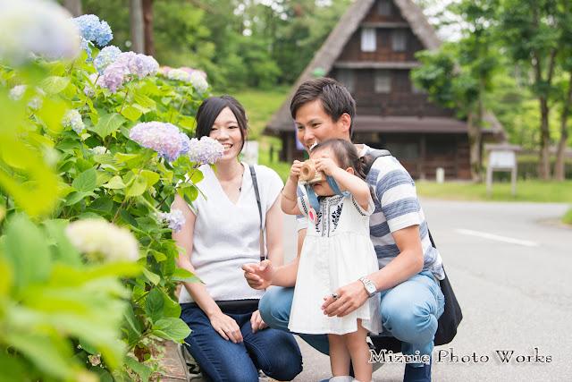 太閤山ランドお誕生日撮影