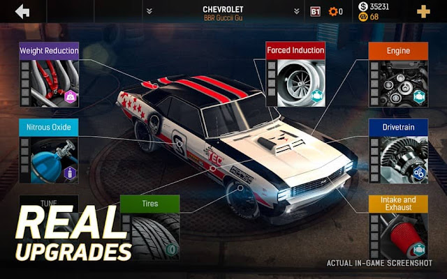 Nitro Nation Drag Racing Mod Apk Free Downlaod