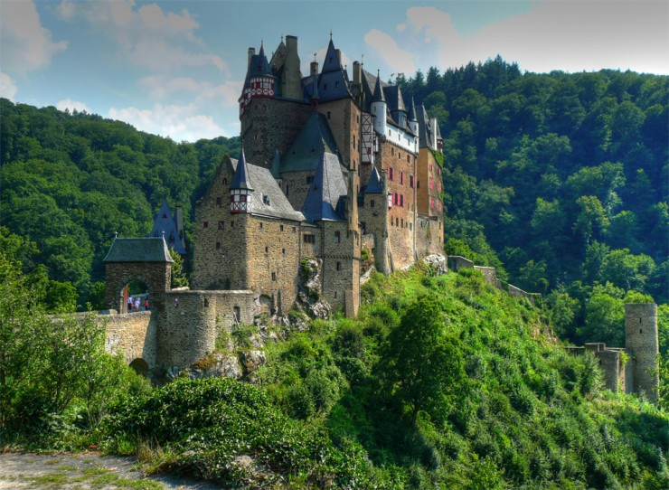 Top 10 Wonderful German Castles - Burg Eltz