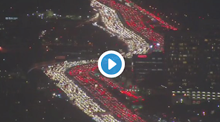 Los Angeles: World's Worst Traffic Jam? Cars Stuck In Thanksgiving Getaway 'Gridlock'