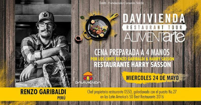 RESTAURANT TOUR 2017 EN RESTAURANTE HARRY SASSON
