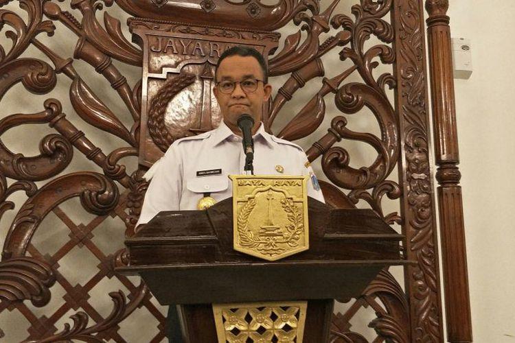 Anies: Kemendagri Setuju TGUPP Dibiayai APBD