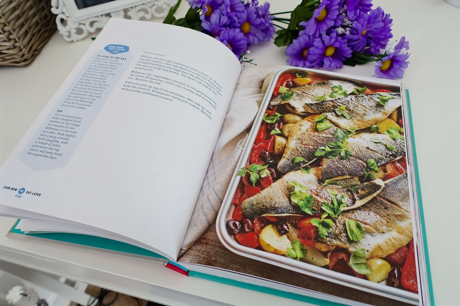 Recipe and food inspiration from cookery books