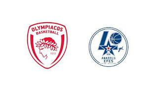Οι κριτές της Ευρωλίγκα στα δύο ματς Ολυμπιακός Αναντολού Εφές