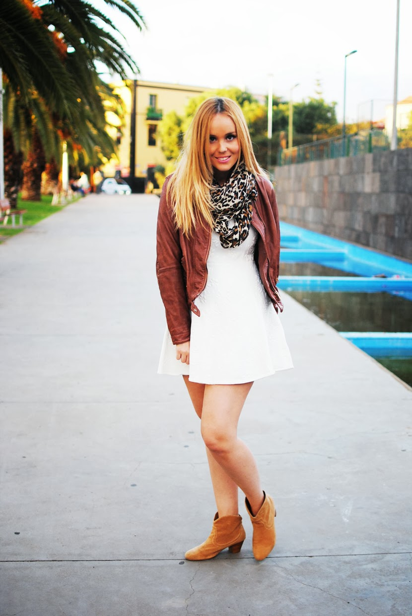 nery hdez, cazadora de piel, nowistyle, white dress, print animal