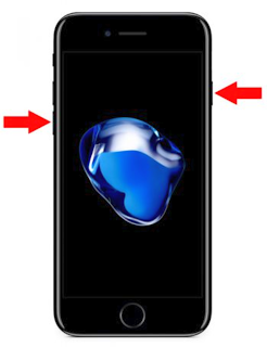 iPhone 7 Plus Force Restart with No Home Button