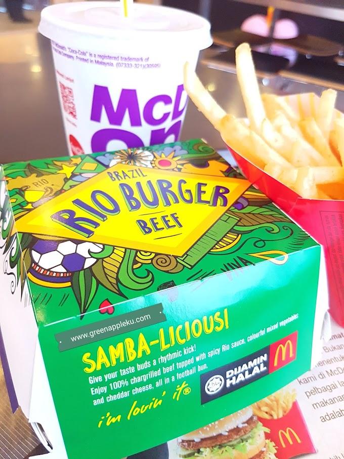 Burger Rio dan D24 McFlurry kini kembali sempena pelancaran kempen 'Discover the World' McDonald's