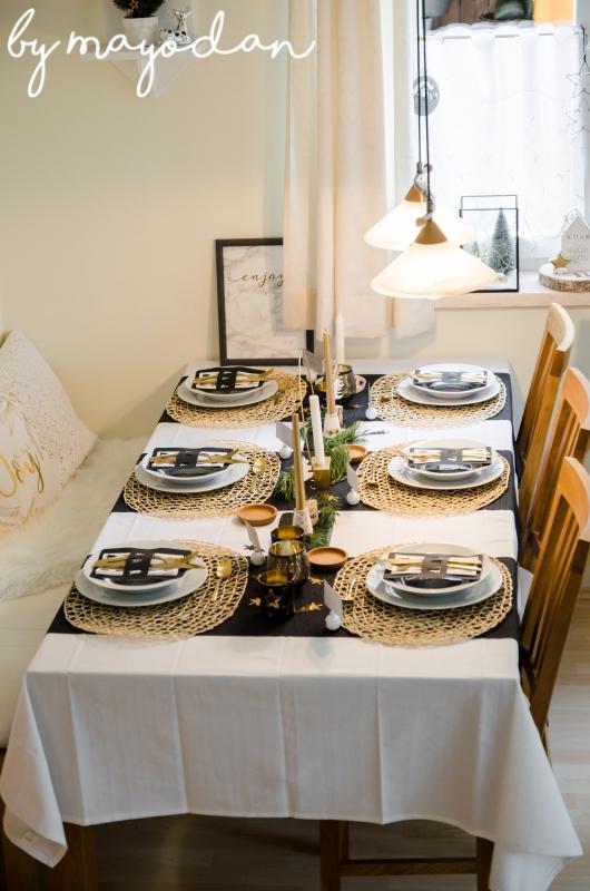 meine tischdeko f r weihnachten mayodans home garden. Black Bedroom Furniture Sets. Home Design Ideas