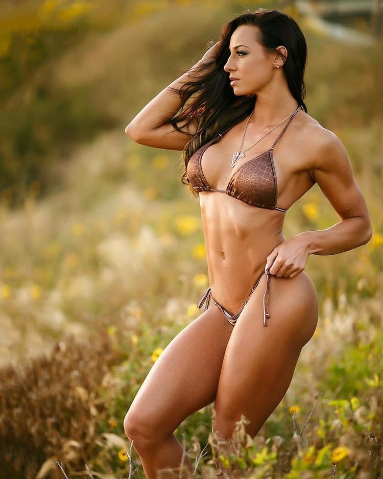 Female fitness model uk