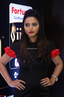 Meghana Gore looks super cute in Black Dress at IIFA Utsavam Awards press meet 27th March 2017 02.JPG