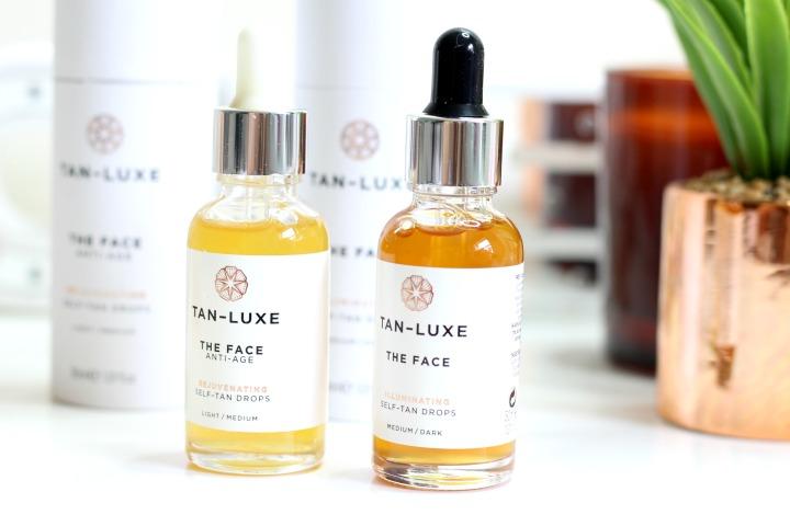 tan luxe illuminating self tanning facial drops bekylou. Black Bedroom Furniture Sets. Home Design Ideas