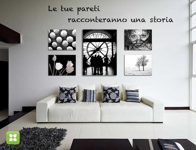 Personalizza le tue pareti con stampe artistiche di for Arredare con fotografie
