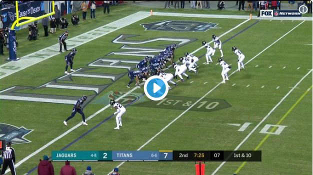 Henry ties longest rushing touchdown in NFL history as Titans tramps Jaguars