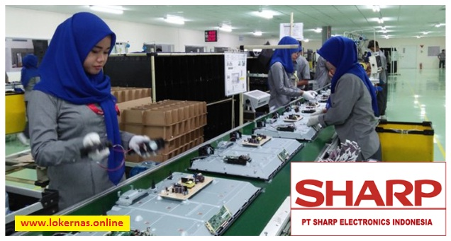 Lowongan Kerja PT Sharp Electronics Indonesia Bagian Stock Keeper (Lulusan SMA/SMK/Setara)