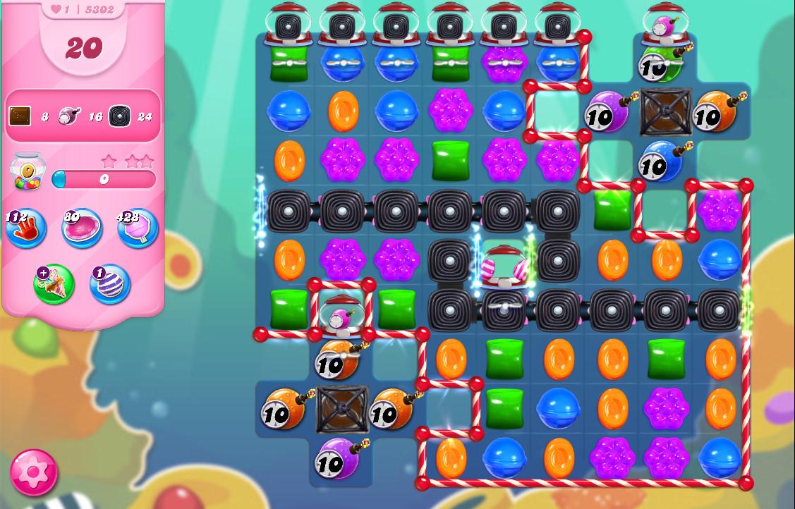 Candy Crush Saga level 5302