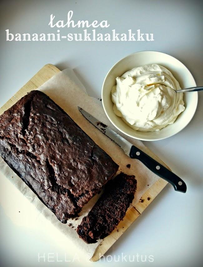 https://hellajahoukutus.blogspot.com/2014/03/tahmea-suklaa-banaanikakku.html