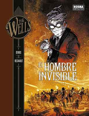 El Hombre Invisible, adptación al cómic del clásico de H.G. Wells