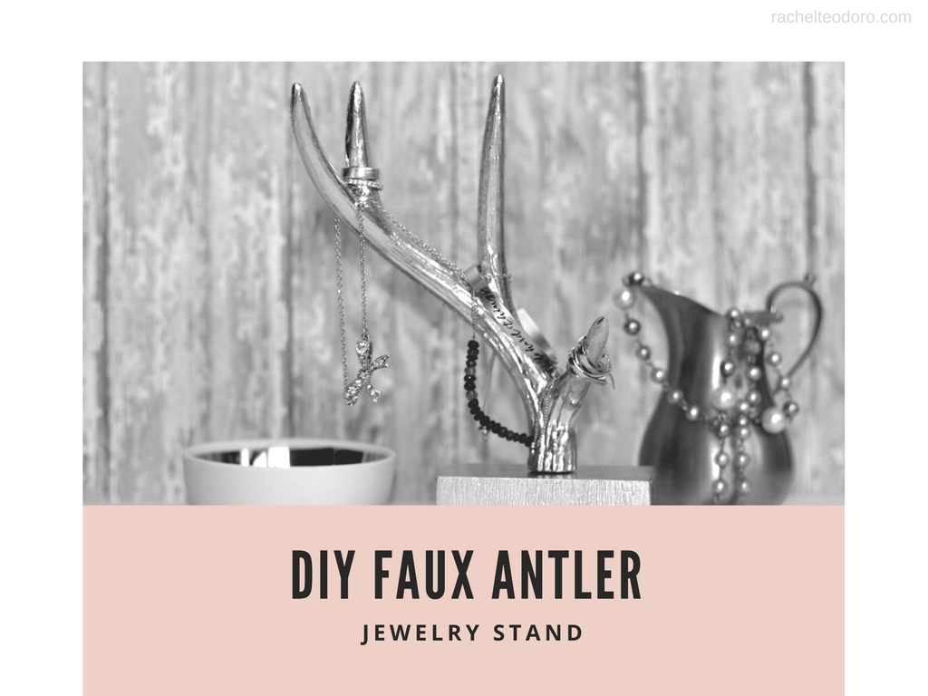 Easy To Make Antler Jewelry Tree Tutorial