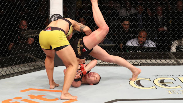 UFC 237 : Jessica Andrade Viciously Slams Out Rose Namajunas