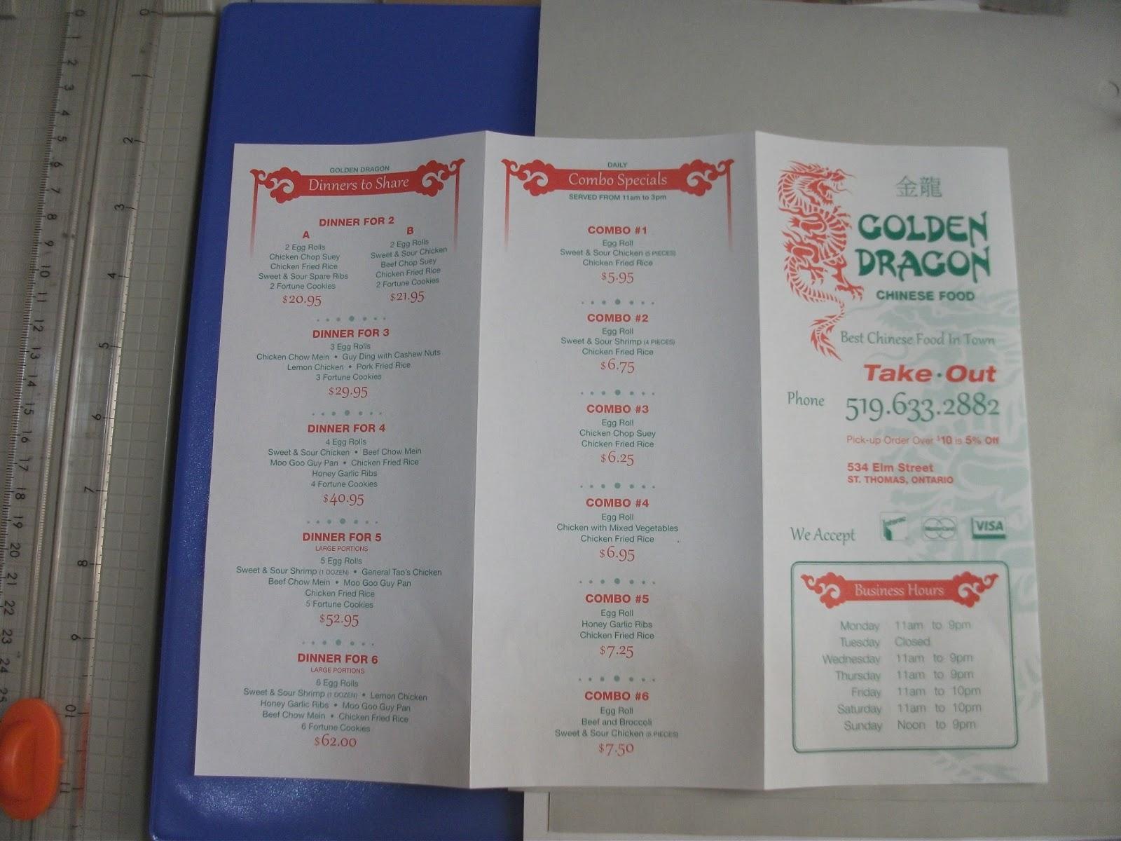 Chinese Restaurant St Thomas Ontario