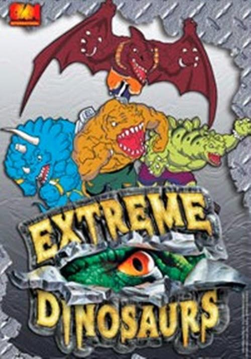 Spawn Share Dinossauros Radicais Extreme Dinosaurs 1997