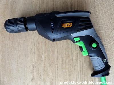 Wiertarka udarowa 810 W Niteo Tools z Biedronki impact drill