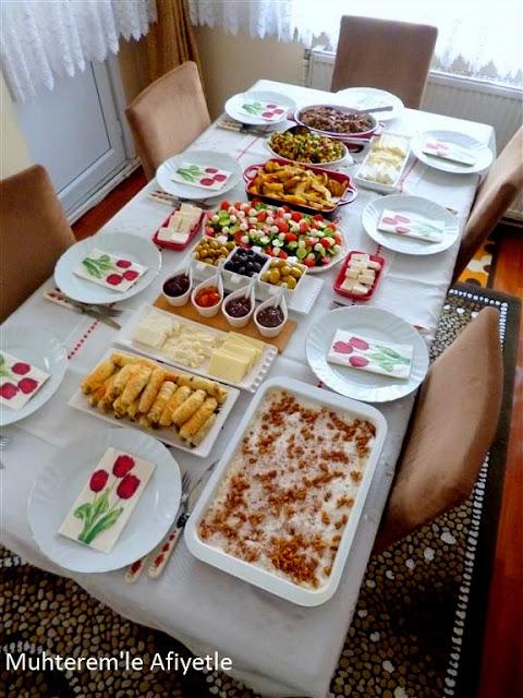 kahvaltı masası resimleri