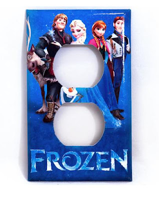 Frozen Power Outlet Cover
