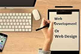 Difference Web Design And Web Development