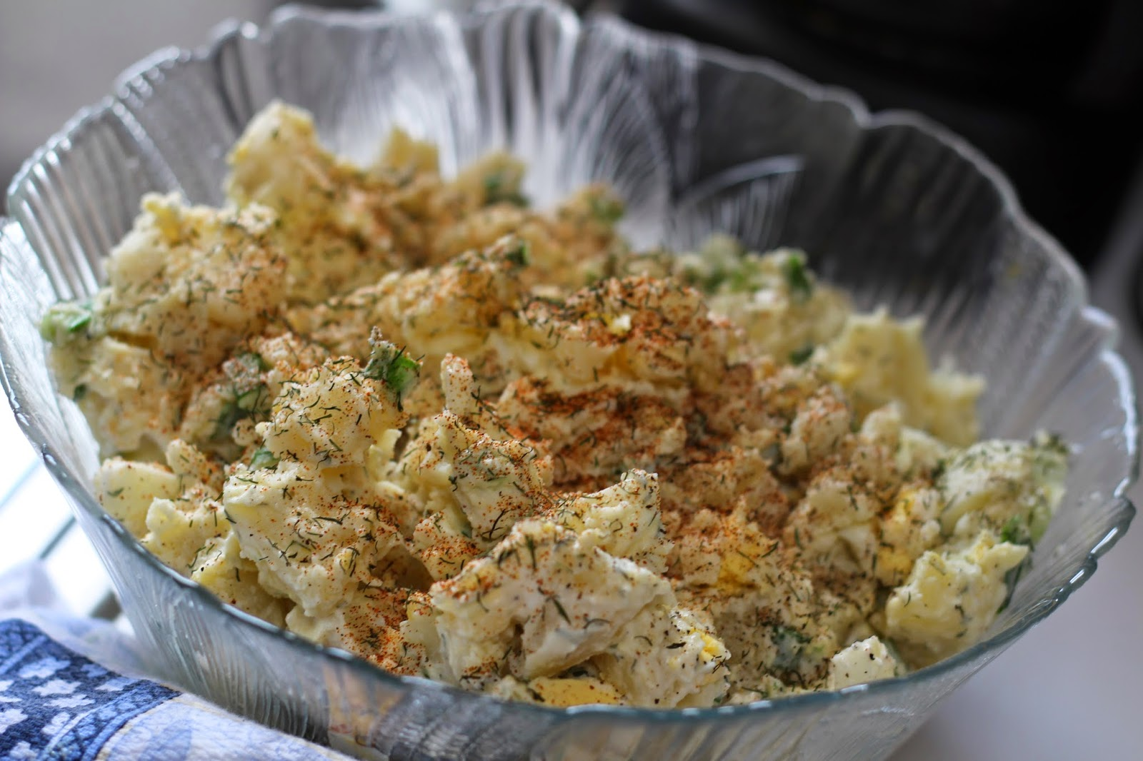 Yummy Potato salad, Living From Glory to Glory Blog
