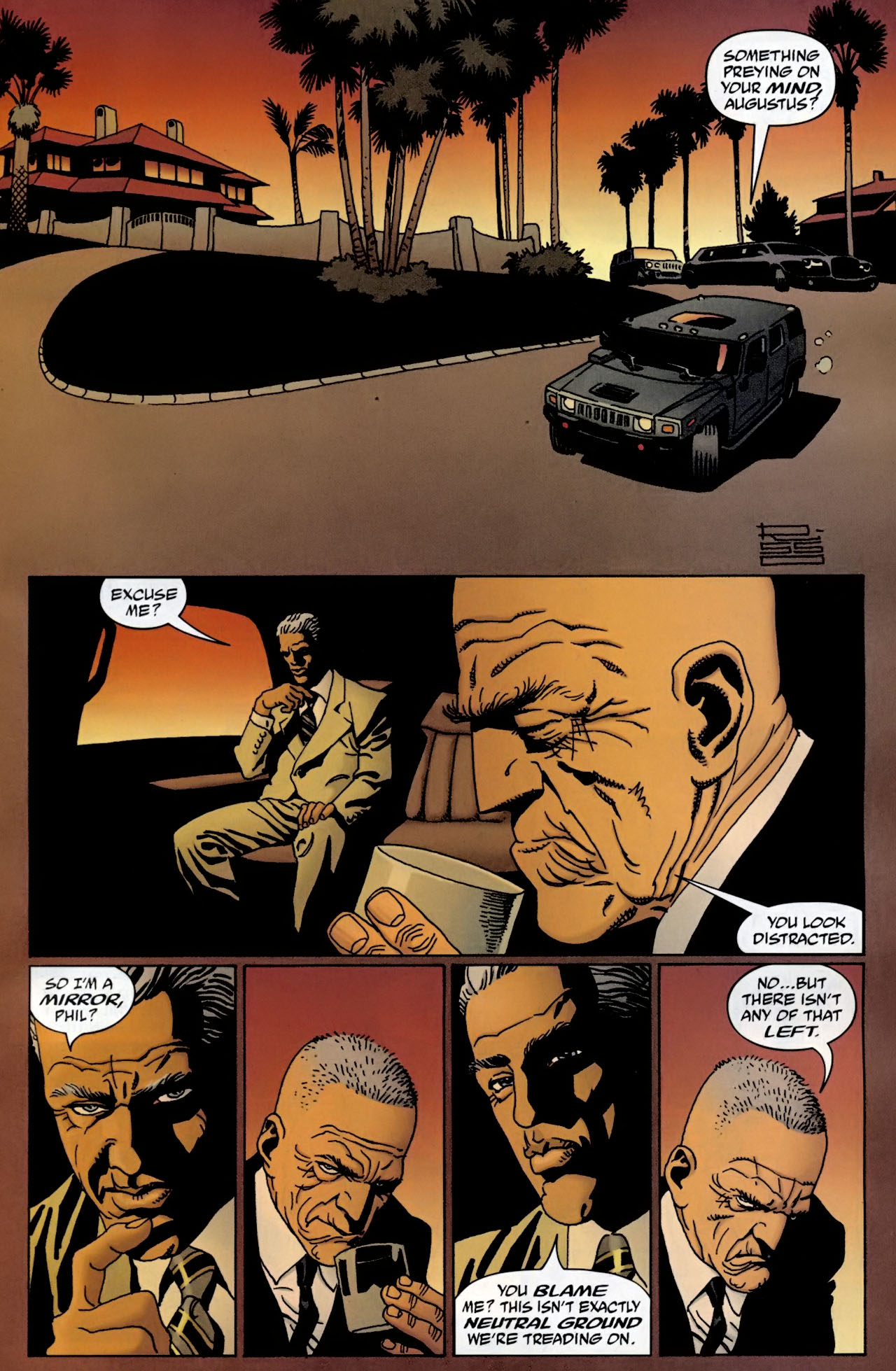 Read online 100 Bullets comic -  Issue #98 - 10