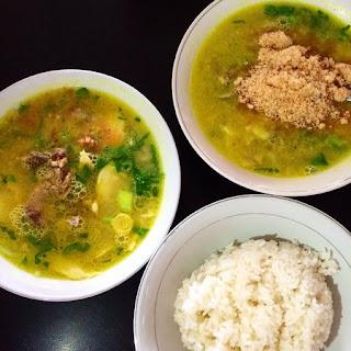 Kuliner Indonesia - Soto Lamongan Cak Har