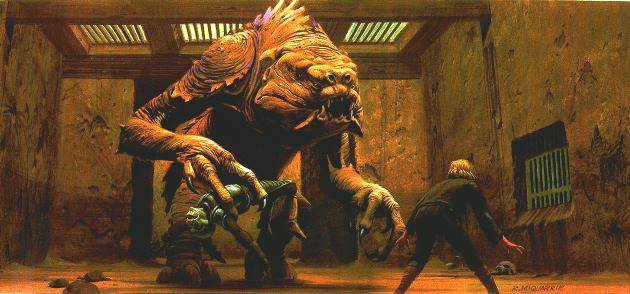 rancor concept art