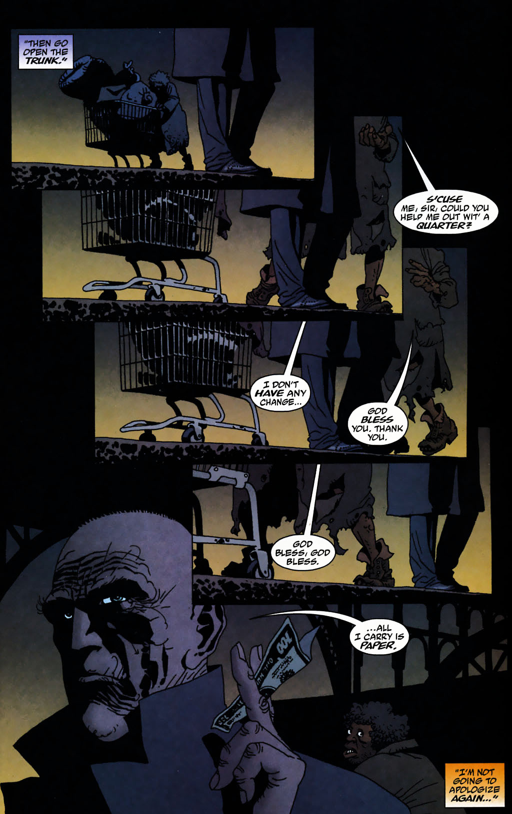 Read online 100 Bullets comic -  Issue #72 - 15