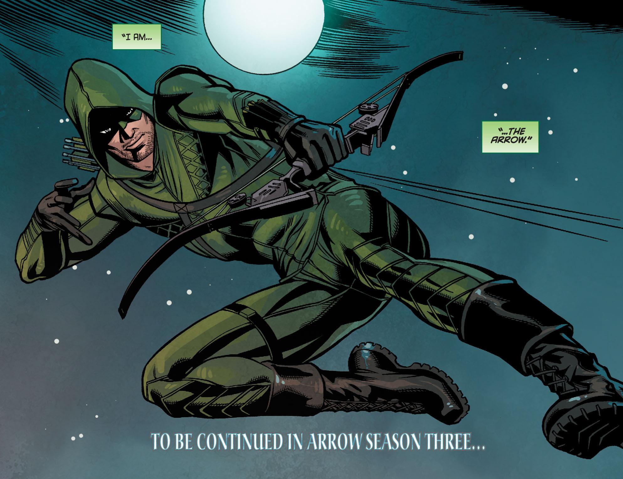 Read online Arrow: Season 2.5 [I] comic -  Issue #24 - 22