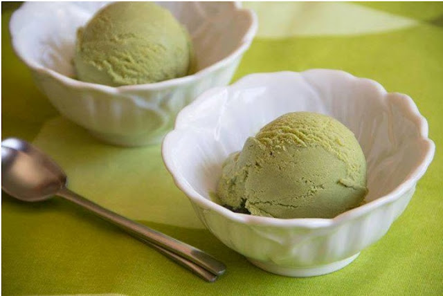 Resep Ice Cream Green Tea
