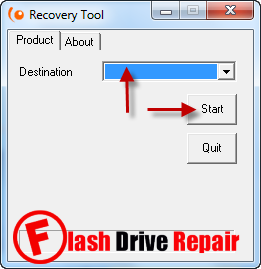 Download Innostor Recovery Tool V2 for fixing IS902 chip controller