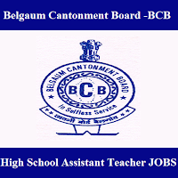 Belgaum Cantonment Board, BCB Ministry of Defence, BCB, freejobalert, Sarkari Naukri, BCB Answer Key, Answer Key, bcb logo