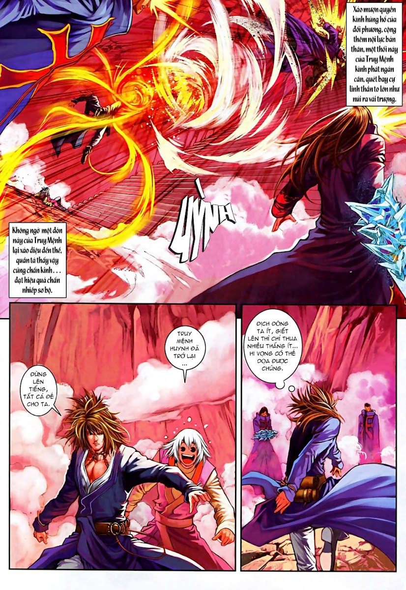 Ôn Thuỵ An Quần Hiệp Truyện Phần 2 chapter 13 trang 21